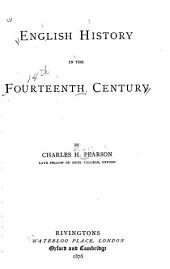 English History in the Fourteenth Century