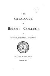 Catalogue of Beloit College