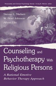 Counseling and Psychotherapy With Religious Persons PDF