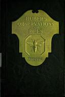 Huber s Observation on Bees