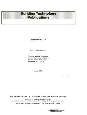 Building Technology Project Summaries PDF