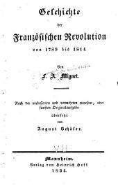 Geschichte der französischen Revolution von 1789 bis 1814