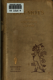 Bon-mots of the Nineteenth Century