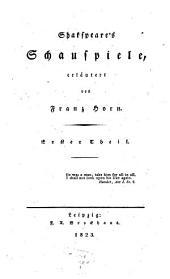 Shakspear's Schauspiele: Macbeth. - Julius Cäsar. - Der Kaufmann von Venedig u.a, Part 1