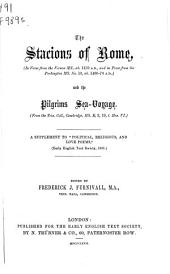 "The Stacions of Rome ...: And The Pilgrims Sea-voyage ... with Clene Maydenhod ... A Supplement to ""Political, Religious, and Love Poems,"" and ""Hali Meidenhad,"" (... 1866)"