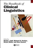 The Handbook of Clinical Linguistics PDF
