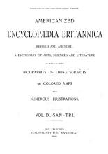 Americanized Encyclopedia Britannica  Revised and Amended PDF