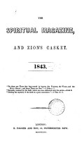 The Spiritual Magazine  and Zion s Casket PDF