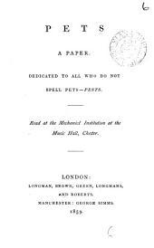 Pets: A Paper, Volume 6
