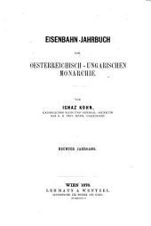 Eisenbahn-Jahrbuch der oesterreichisch ungarischen Monarchie: Band 9