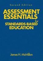Assessment Essentials for Standards Based Education PDF