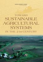 Toward Sustainable Agricultural Systems in the 21st Century PDF