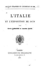 L'Italie et l'Exposition de 1878