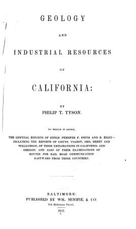Geology and Industrial Resources of California PDF