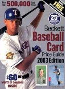 Beckett Baseball Card Price Guide Book PDF