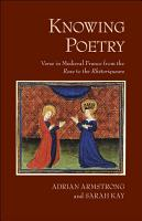 Knowing Poetry PDF