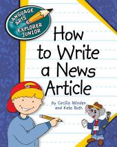 How to Write a News Article