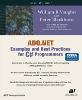 ADO NET Examples and Best Practices for C  Programmers PDF