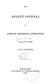 The Select Journal of Foreign Periodical Literature: Volume 4