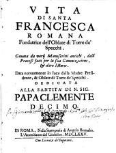 Vita di Santa Francesca Romana