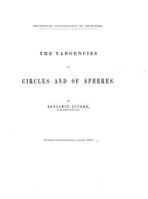 The Tangencies of Circles and of Spheres