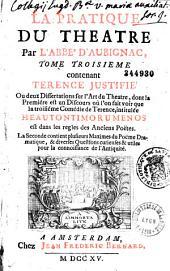 La pratique du théâtre, oeuvre très-nécessaire à tous ceux qui veulent s'appliquer à la composition des poëmes dramatiques... (par l'abbé d'Aubignac.)