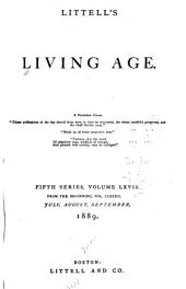 Littell's Living Age: Volume 182