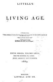 Littell's Living Age: Volume 182