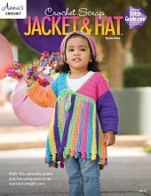 Crochet Scrap Jacket and Hat