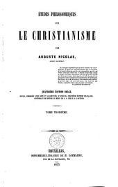Etudes philosophiques sur le christianisme ...