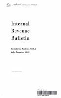 Internal Revenue Bulletin Cumulative Bullentin 1959 2 July December 1959 PDF