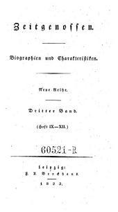 Zeitgenossen. Biographien und Charakteristiken: Ausgabe 3