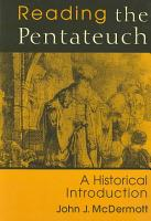 Reading the Pentateuch PDF