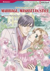 MARRIAGE, MANHATTAN STYLE: Harlequin Comics