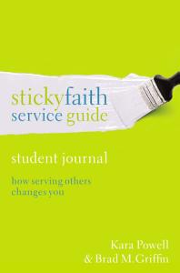 Sticky Faith Service Guide  Student Journal Book