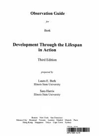 Development Through Life Obs Gd Book