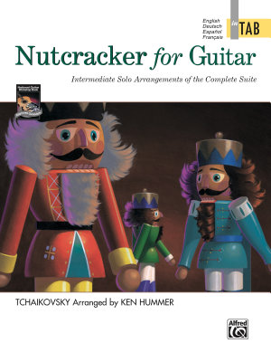 Nutcracker for Guitar  In TAB PDF
