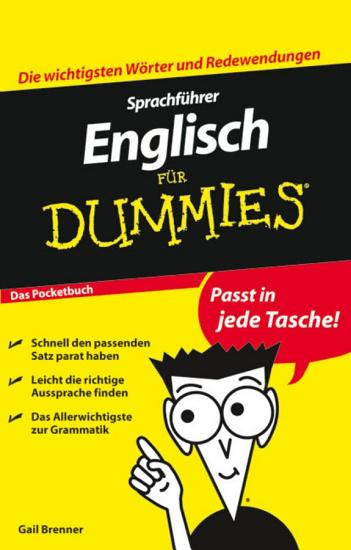 Sprachf  hrer Englisch f  r Dummies Das Pocketbuch PDF