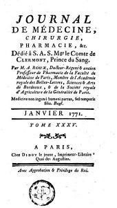Journal de médecine, de chirurgie et de pharmacie: Volume35