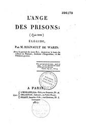 L'ange des prisons (Louis XVII): élégide