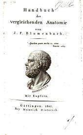 Handbuch der vergleichenden Anatomie, etc
