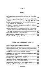 Bulletin de la Société historique et archéologique du Perigord: Volumes5à6