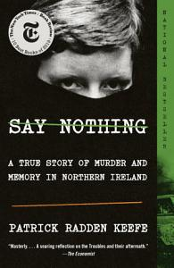 Say Nothing Book