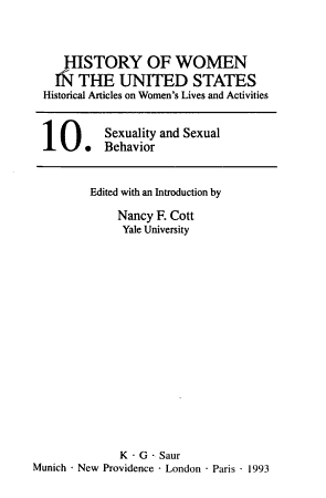 Sexuality and Sexual Behavior PDF