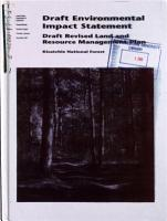 Kisatchie National Forest  N F    Revised Land and Resource Management Plan PDF