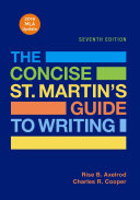 The Concise St  Martin s Guide to Writing with 2016 MLA Update PDF