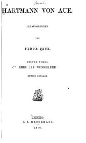 Hartmann von Aue: Th. Êrec der Wunderaere