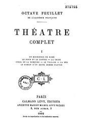 Théâtre complet: Volume1