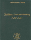 Who s Who in Finance and Industry PDF
