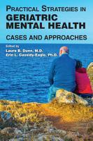 Practical Strategies in Geriatric Mental Health PDF